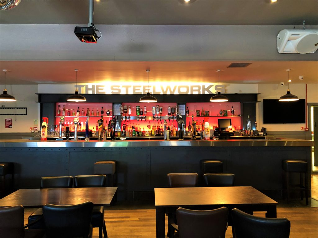 steelworks bar motherwell live sports bt sports sky sports big screen tv pool dining family sunday lunch dining functions parties