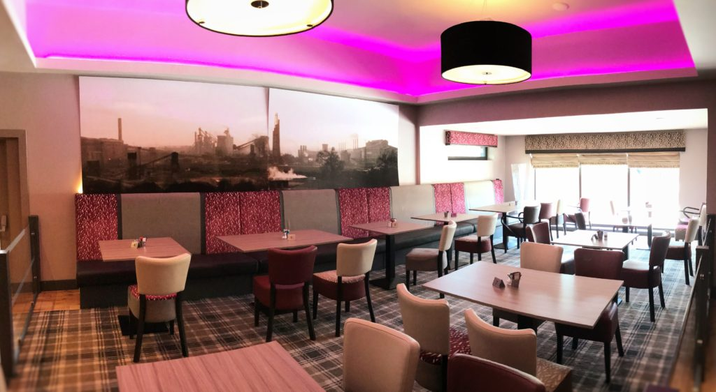 dining and function area at the steelworks bar and grill motherwell