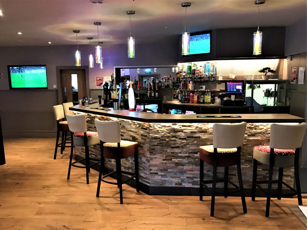 lounge bar at the steelworks bar and grill motherwell