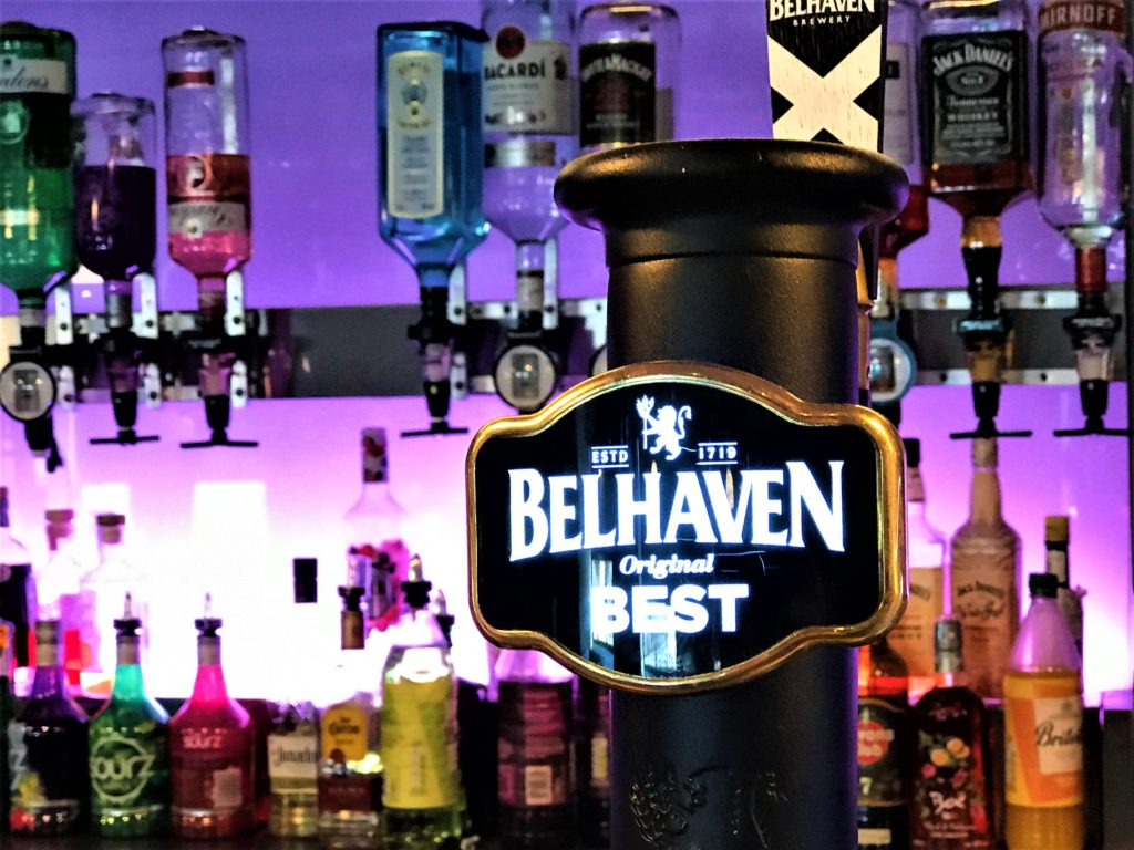belhaven best beer at the steelworks bar and grill motherwellt
