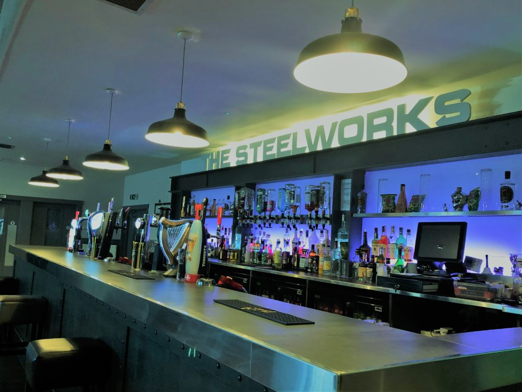 steelworks bar and grill motherwell sports bar